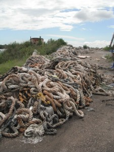 PET / PP USed Rope